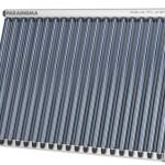 CPC Vakuum-Röhrenkollektor von Paradigma